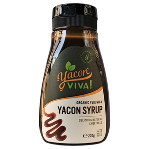 WHOLESALE: YaconViva! Organic Yacon Syrup - Case of 12 12x220g,12x560g