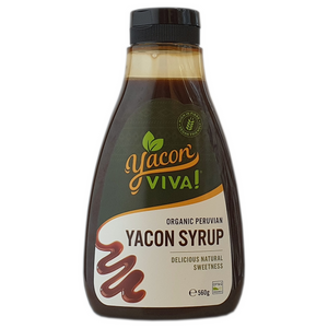 WHOLESALE: YaconViva! Organic Yacon Syrup - Case of 12 (Select Size) 12x220g,12x560g