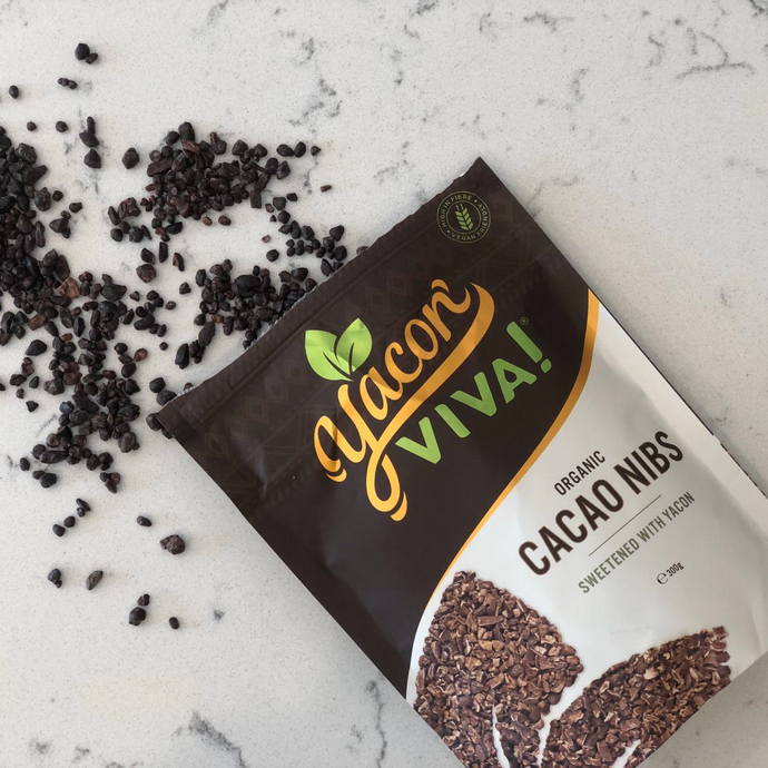 YaconViva! Organic Cacao Nibs Sweetened with Yacon (300g) Default Title
