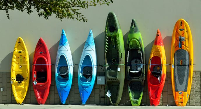 Types and Classifications of Kayaks