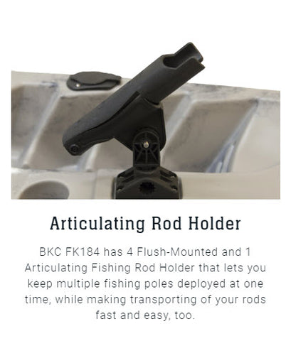 articulating rod holder
