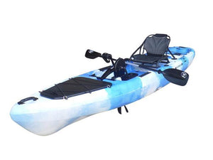 BKC UH-PK13 Pedal Drive Solo Traveler 13 Foot, With Pedal Drive, Rudder System, Paddle And Seat