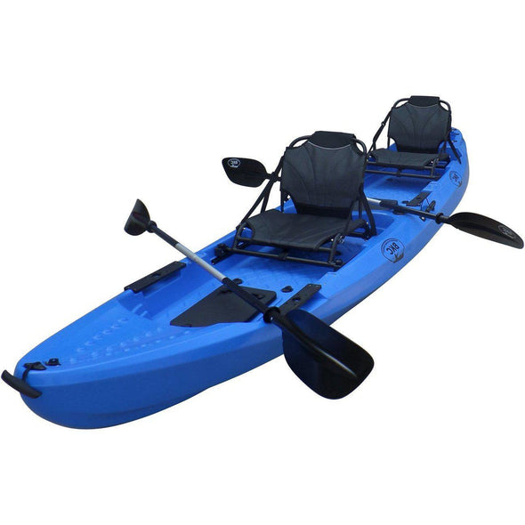 BKC 13 Foot 1 Inch Tandem Fishing Kayak - kayakshops
