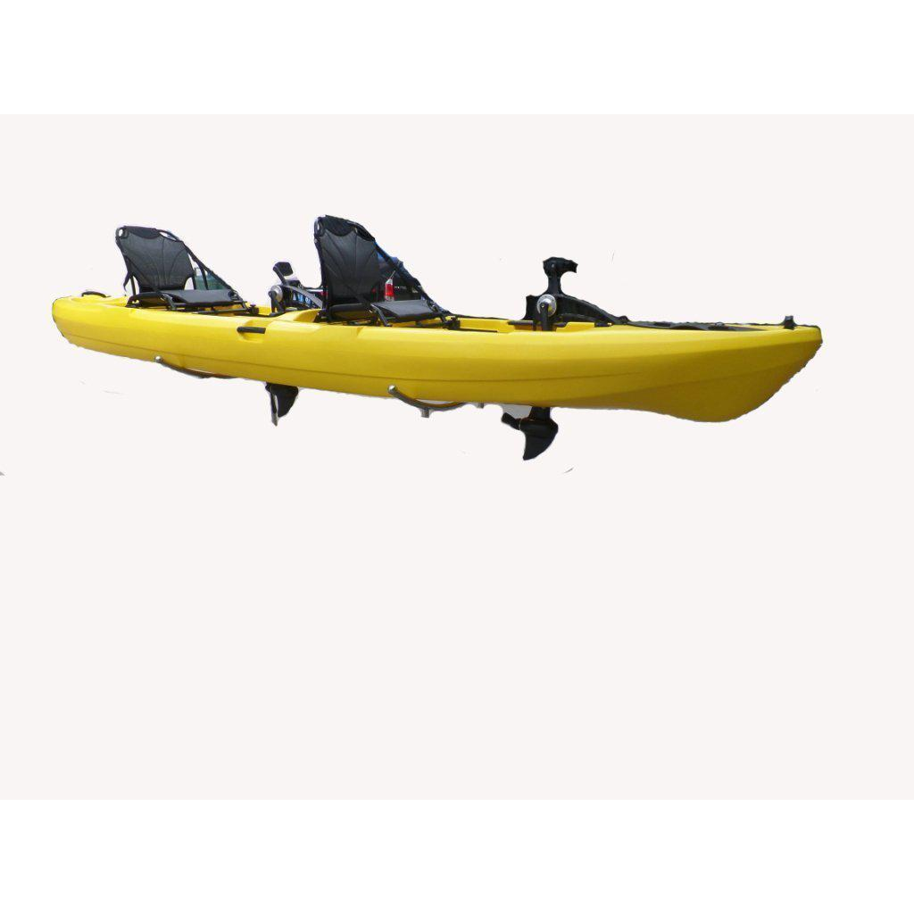 Bkc Pk14 14 Tandem Sit On Top Pedal Drive Kayak W Rudder System And Kayak Shops