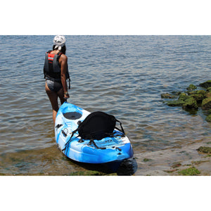 BKC UH-FK184 9 Foot Sit on Top Single Fishing Kayak-Kayak Shops