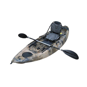 gray BKC UH-FK285 9-Foot 5-inch Sit on Top Single Fishing Kayak - kayakshops