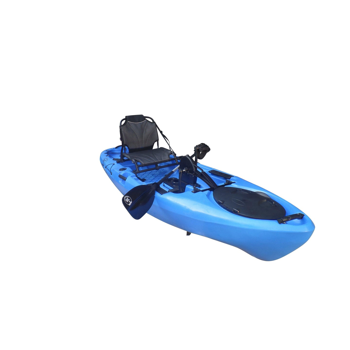 BKC UH-PK13 Pedal Drive Solo Traveler 13 Foot, With Pedal Drive, Rudder System, Paddle And Seat - kayakshops