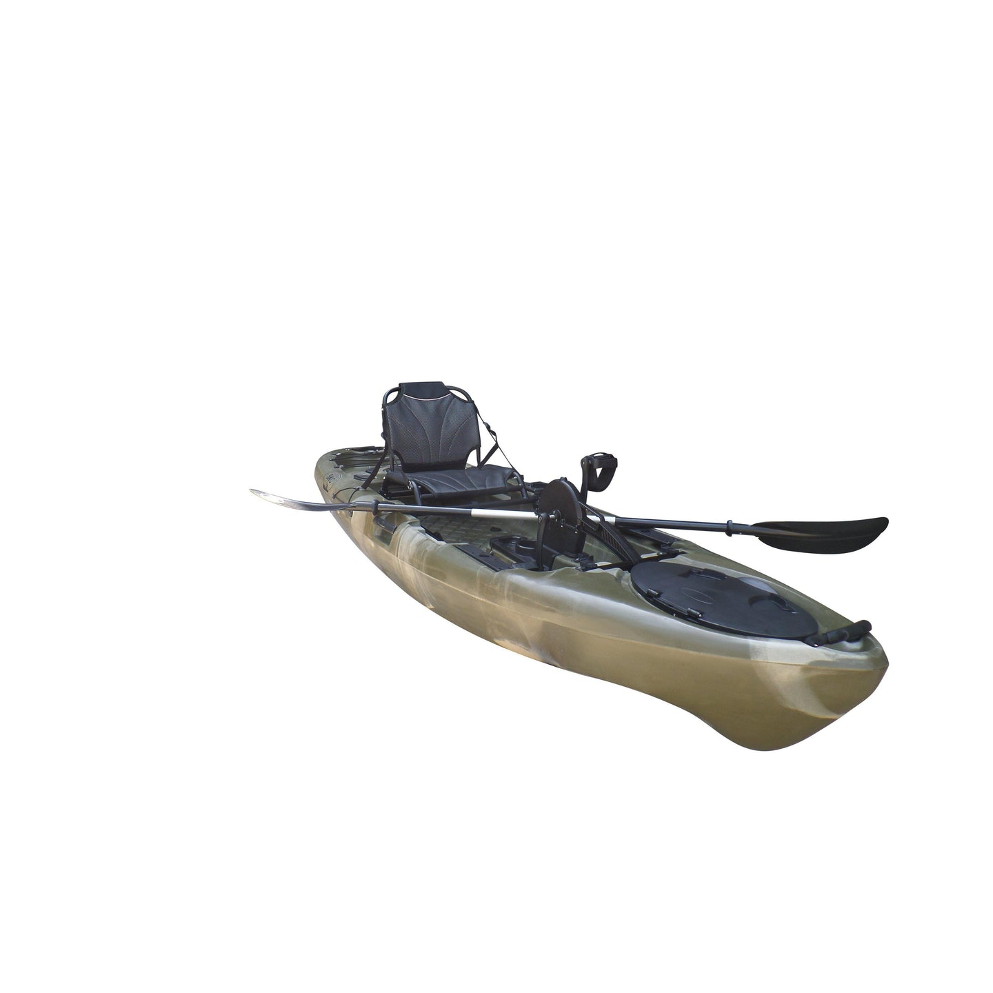 BKC UH-PK13 Pedal Drive Solo Traveler 13 Foot, With Pedal Drive, Rudder System, Paddle And Seat-Kayak Shops