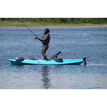 BKC UH-RA220 11 Foot 6 Angler Sit On Top Fishing Kayak (2pc Paddles, Seat & Rudder)-Kayak Shops
