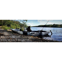 BKC UH-RA220 11 Foot 6 Angler Sit On Top Fishing Kayak (2pc Paddles, Seat & Rudder) - kayakshops
