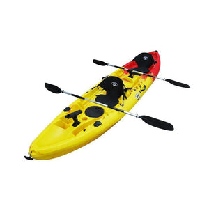 Tandem Sit On Top Kayak yellow red