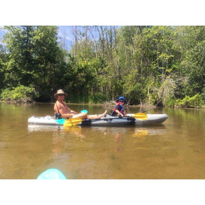 Brooklyn 12 Foot 5 Inch Tandem Fishing Kayak - kayakshops