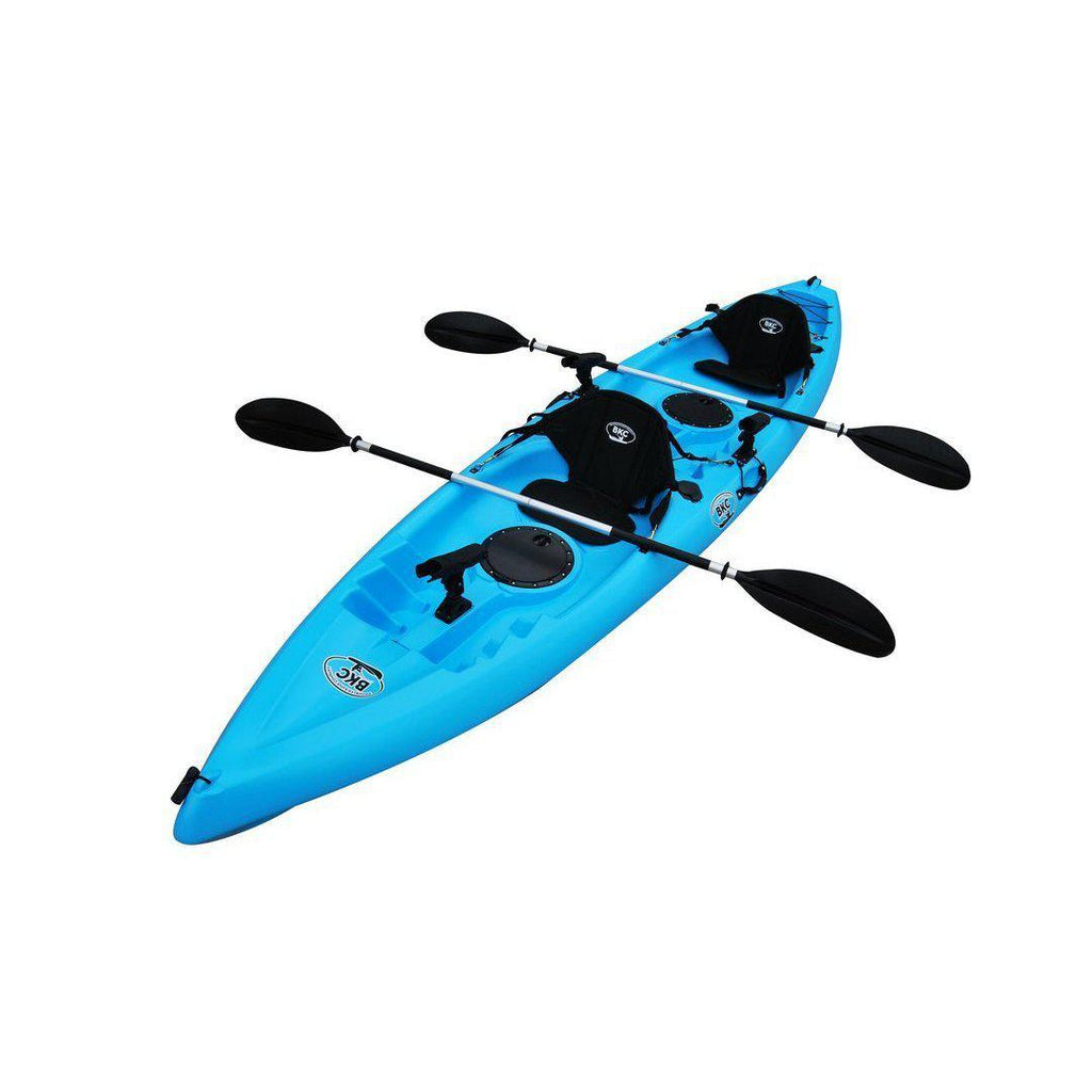 Tandem Fishing Kayak blue camo