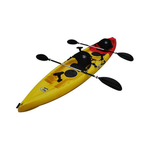 Tandem Fishing Kayak red yellow