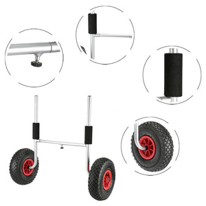 Plug In Kayak Cart parts