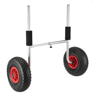Plug In Kayak Cart side view