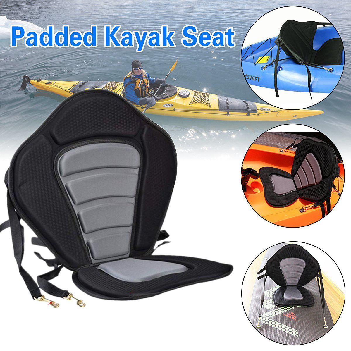 ComfortPlus Universal Sit on Top Full Kayak Seat Padded seat and Backrest-Kayak Shops