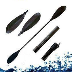 Paddle with Fiberglass Shaft and Plastic Blade components