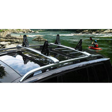 Kayak Roof Rack Modifcation For Crossbar top view