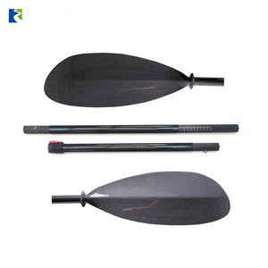 Sport-Line 4-Piece Carbon Fiber Paddle Blade 3K Carbon Shaft 10cm w/bag - kayakshops