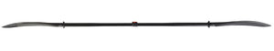 Sport-Line Kayak Paddle with Carbon Fiber Shaft and Plastic Blade(AB blade)