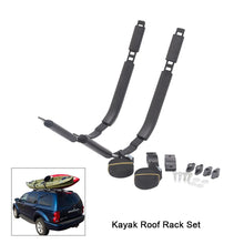 Tomshoo Kayak Roof Rack Set (2 J-Racks)-Kayak Shops