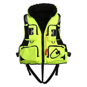 VKTech Adult Polyester Swimming Life Jacket (Fishing Friendly) - kayakshops