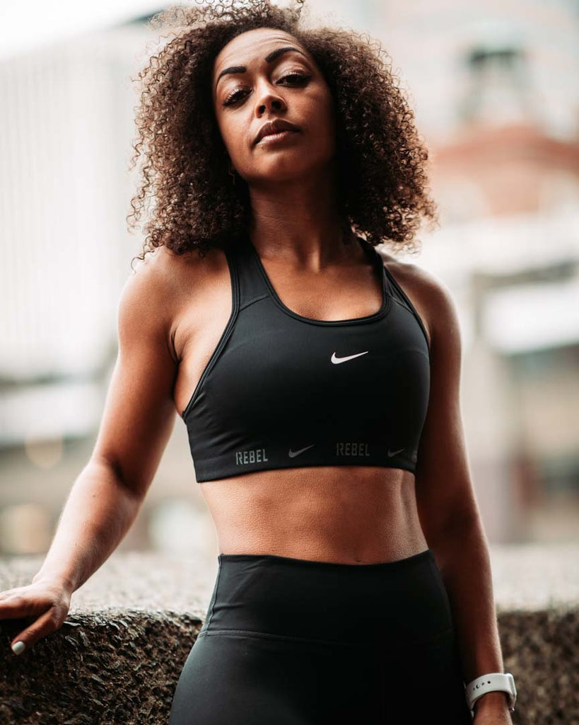 Nike Swoosh Bra - Medium Support