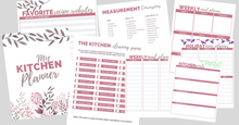 Load image into Gallery viewer, Special Deal! The Kitchen Planner PLUS the Life Planner for $29!