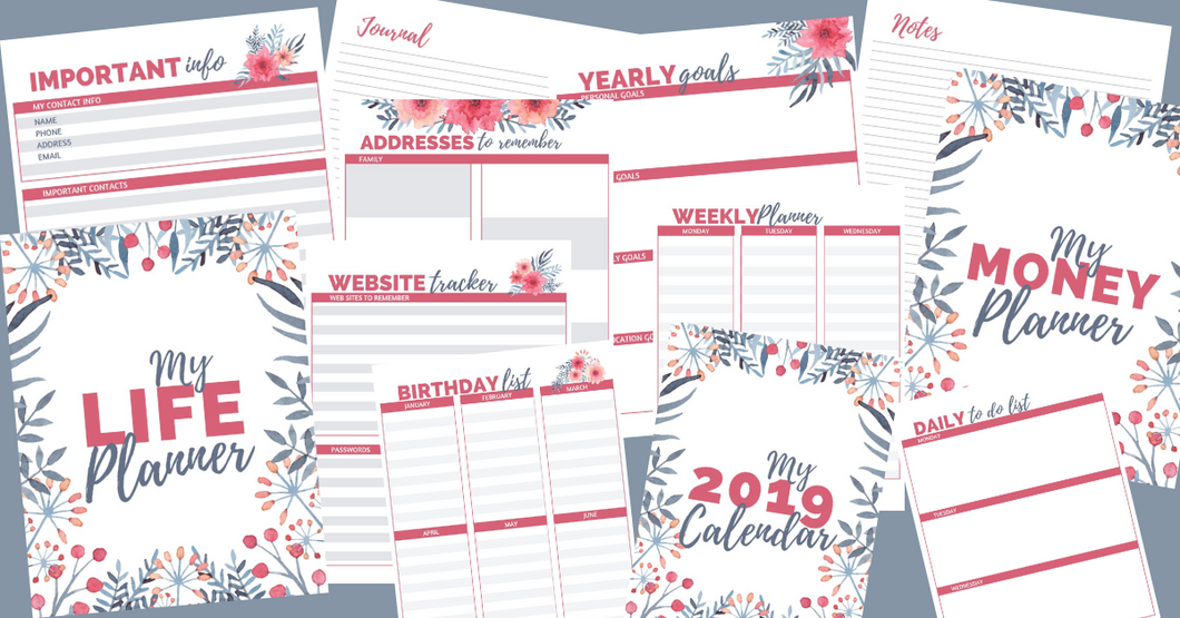 Special Deal! The Kitchen Planner PLUS the Life Planner for $29!