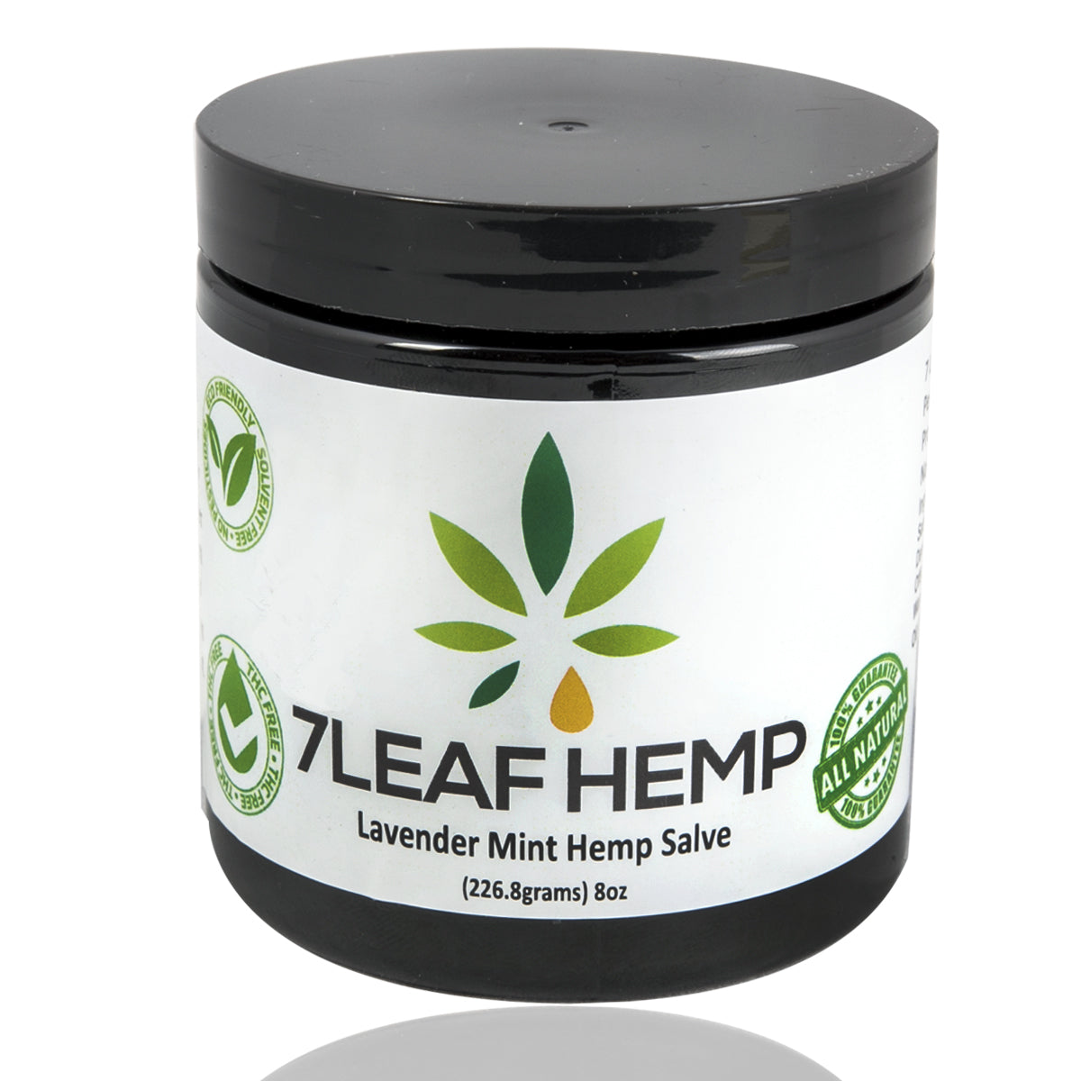 7Leaf 4000mg CBD Lotion All Natural Lavender Mint Balm CBD Salve