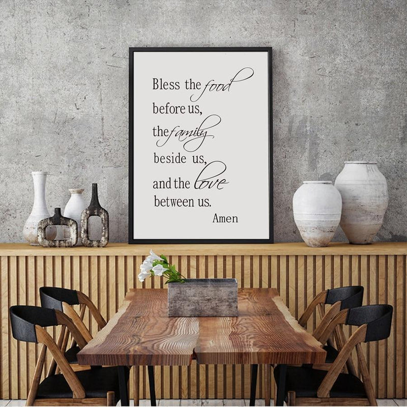 Bless the Food Canvas - superkitchenstore.com