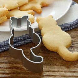 Cat Shapes Cookie Cutter - superkitchenstore