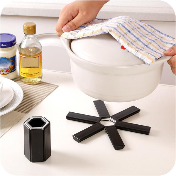Foldable Heat Resistant Pan Pad - superkitchenstore