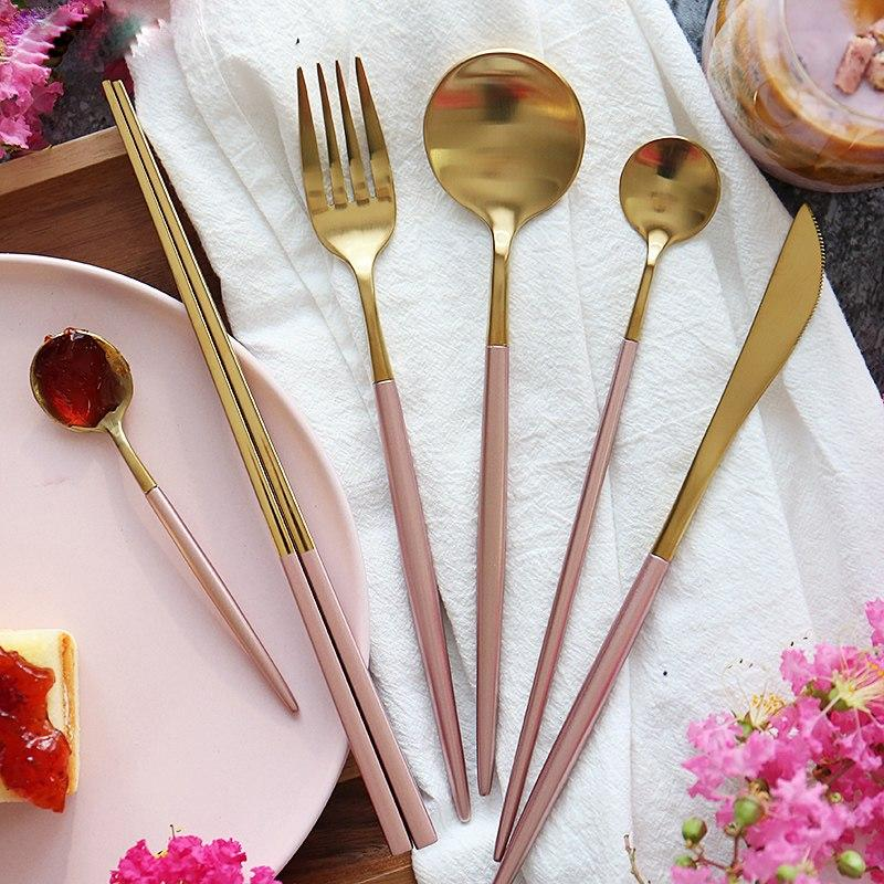 Golden Cutlery set