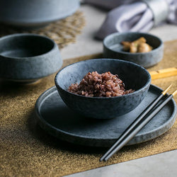 Western Style Ceramic Bowl Set - superkitchenstore