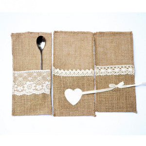 10 Pieces Cutlery Pouch