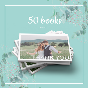 50 Thank You Books for your Guests