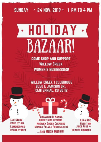 Holiday Bazaar November 24