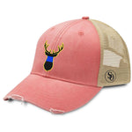 Deer Flag Blue Line Women's Hat