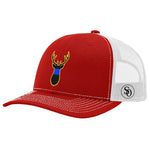 Deer Flag Blue Line Hat