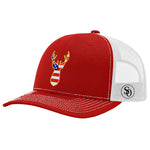 Deer Flag USA Hat