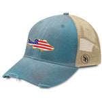 Fish Flag USA Women's Hat