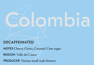 Decaffeinated: Colombia