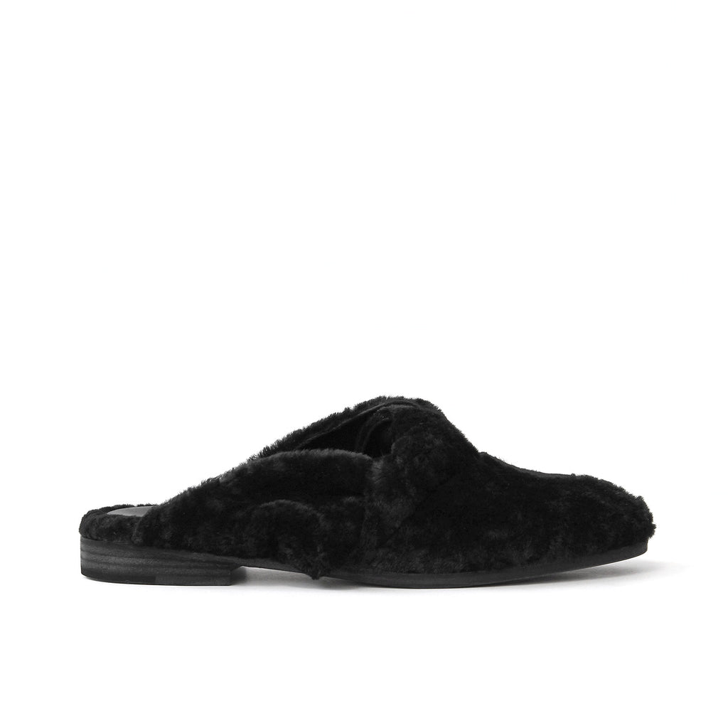 The Dada - Black Shearling