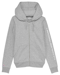 Sweat zippé à capuche « Jemy »