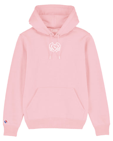 Sweat capuche « Octobre Rose »