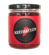 Load image into Gallery viewer, Keith & Clem Hot Pepper Jelly - Original Ghost 290 ml