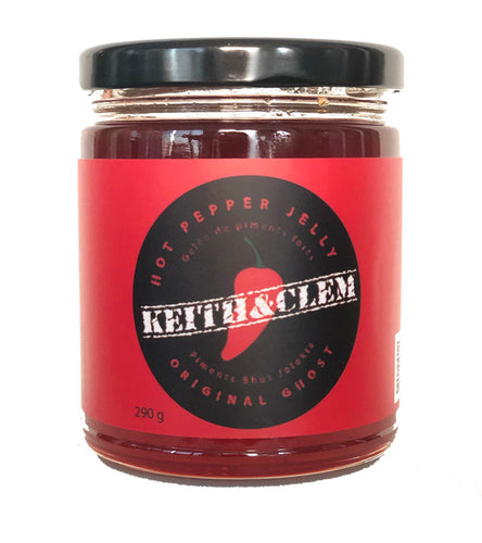 Keith & Clem Hot Pepper Jelly - Original Ghost 290 ml