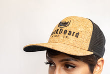 Load image into Gallery viewer, Corkbeard Flat Visor Snapback Cap